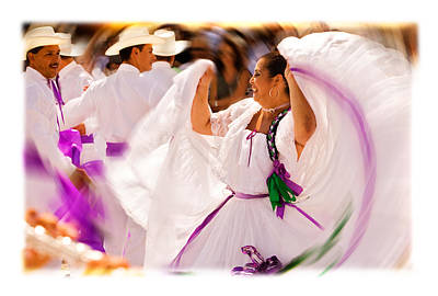 Corrida Photograph - South American Dancers by Mal Bray