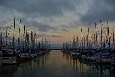 Thomas Brown Photograph - South Beach At Sunset by Thomas Brown