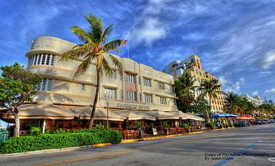 Photograph - South Beach Carpozo Hotel by Sean Allen