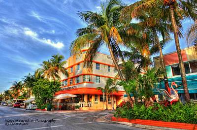 Photograph - South Beach Waldorf Tower by Sean Allen
