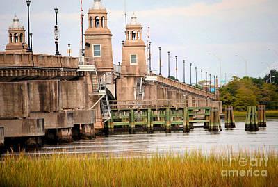 Art Print featuring the photograph South Carolina Bridge by Tamera James