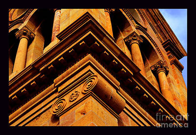 South Corner Of St. Francis Cathedral Art Print by Susanne Still