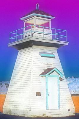 South Hamton Lighthouse 3 Art Print by Cyryn Fyrcyd