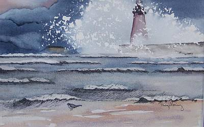 South Haven Lighthouse Art Print