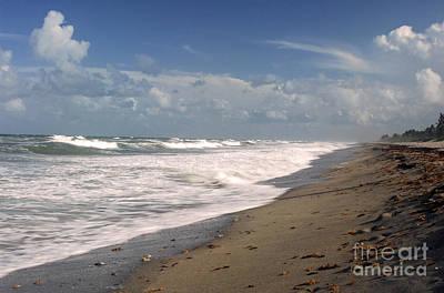 Photograph - South Hobe Sound Beach by Richard Nickson