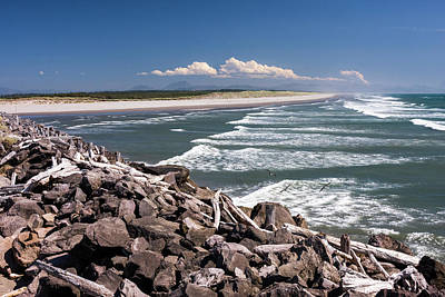 Photograph - South Jetty 2 by Albert Seger