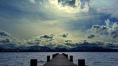 South Dock Wall Art - Photograph - South Lake Tahoe by Brad Scott