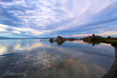 Photograph - South Mono Lake Tufas Sunset by Adam Jewell