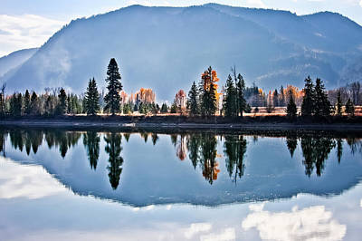 Photograph - South Of Clark Fork by Albert Seger