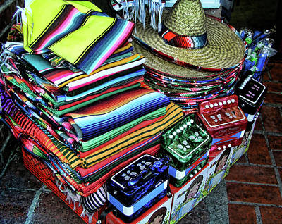 South Of The Border Print by Helaine Cummins