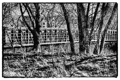 Photograph - South Platte River Bridge II by David Patterson