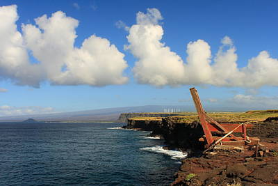 Photograph - South Point Hawaii Boat Hoist by Scott Rackers
