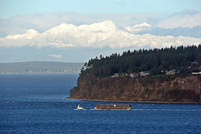 Photograph - South Puget Sound Scenery by Chris Anderson