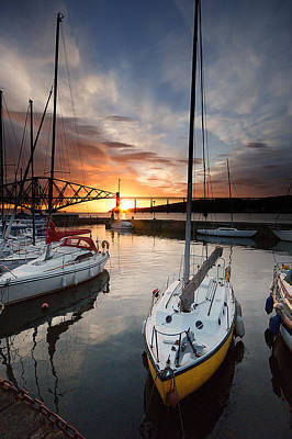 South Queensferry Harbour Art Print by Keith Thorburn LRPS AFIAP CPAGB
