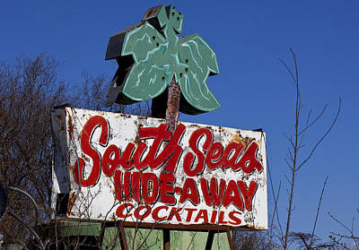 Marketing Photograph - South Seas Sign by Garry Gay