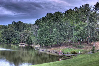 Photograph - South Side Sunrise Lake by Barry Jones
