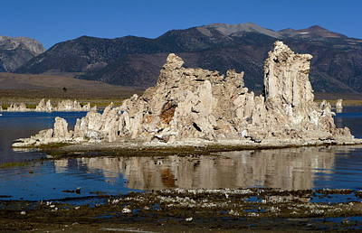 South Tufas And Eastern Sierra Nevada Art Print