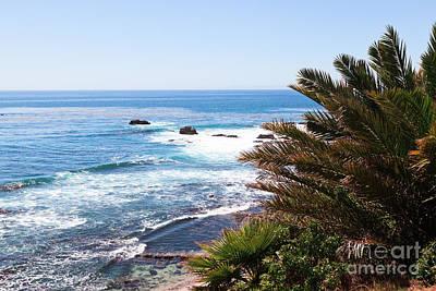 Southern California Coastline Photo Art Print by Paul Velgos