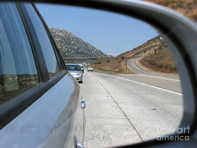 Photograph - Southern California In The Mirror by Ausra Huntington nee Paulauskaite