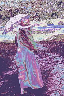 Southern Lady Art Print