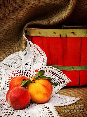 Photograph - Southern Peaches by Cheryl Davis