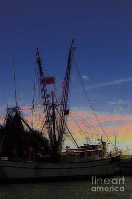 Photograph - Southern Shrimp Boat by Donna Bentley