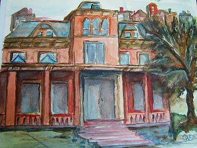 Northern Ky Painting - Southgate House by Elaine Duras