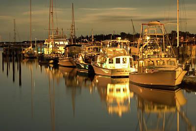 Photograph - Southwest Harbor by Paul Mangold