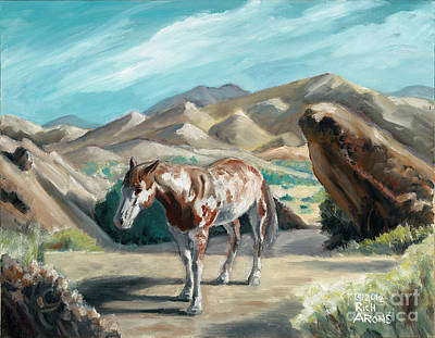 Painting - Southwest Stroll by Rich Arons