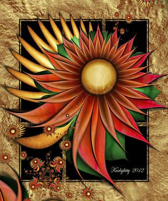 Digital Art - Southwest Sunrise by Karla White