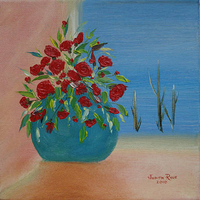 Art Print featuring the painting Southwestern 1 by Judith Rhue