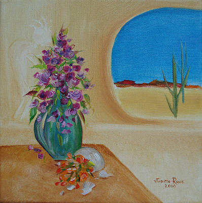 Art Print featuring the painting Southwestern 3 by Judith Rhue