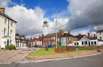 Digital Art - Southwold by Ian Merton