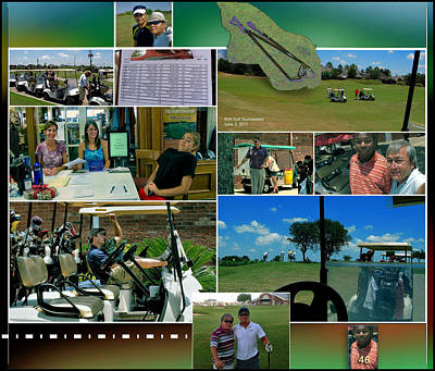 Digital Art - Southwyck Golf Tourney P46 by Glenn Bautista