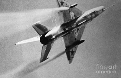 Photograph - Soviet Fighter: Mig 21 by Granger