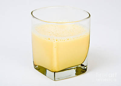 Soy Milk Art Print by Photo Researchers