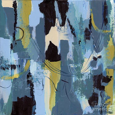 Artwork Wall Art - Painting - Spa Abstract 1 by Debbie DeWitt