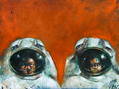Sadness Painting - Space by Kurt Riemersma