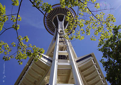 Space Needle Seattle Washington Print by Ty Savell