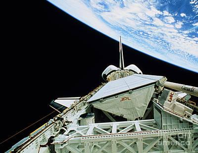 Imaging Radar Photograph - Space Radar Laboratory Srl-2 In Orbit by NASA / Science Source