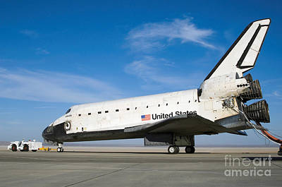 Photograph - Space Shuttle Atlantis by Stocktrek Images