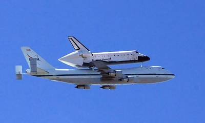 Photograph - Space Shuttle Endeavour by Judith Szantyr