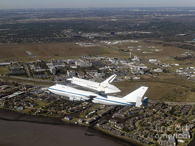 Photograph - Space Shuttle Endeavour Mounted by Stocktrek Images