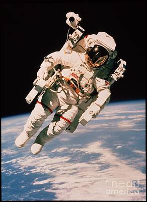 Photograph - Spacewalk by NASA / Science Source