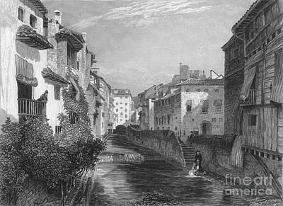 Spain: Grenada, 1833 Art Print