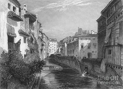 1833 Photograph - Spain: Grenada, 1833 by Granger