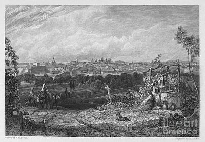 1833 Photograph - Spain: Madrid, 1833 by Granger