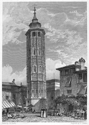Spain: Saragossa, 1833 Art Print by Granger