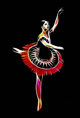 Spanish Ballerina Art Print by Steve K