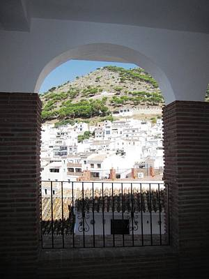 Photograph - Spanish Brick Architecture IIi Mijas Spain by John Shiron